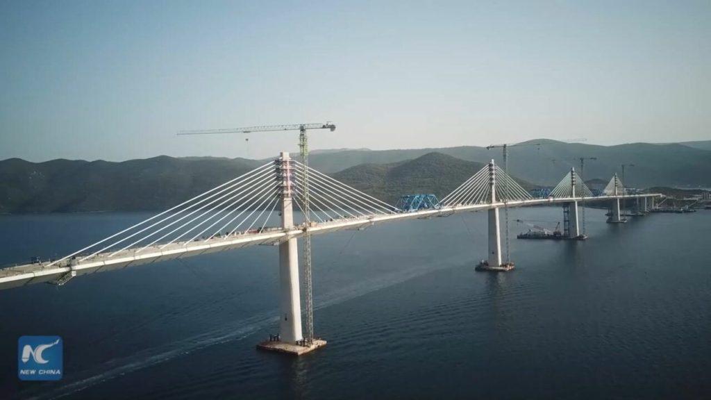 ส่องความคืบหน้า 'สะพานเพลเยซัก' ฝีมือบริษัทจีนในโครเอเชีย   XinhuaThai