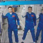 ทีมนักบินอวกาศจีน 'เสินโจว-13' เข้าสู่โมดูลหลักสถานีอวกาศแล้ว   XinhuaThai